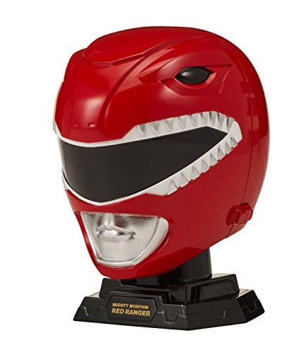 Power Rangers Legacy Mighty Morphin White Ranger – Juego de Casco, Rojo (Red Ranger)