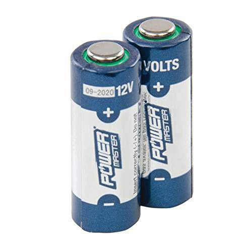 Power Master 306107 A23 Super Alkaline Batterie, 12 V, mehrfarbig, 2 Stück