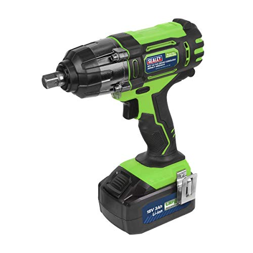 Sealey CP400LIHV 18V 1/2' Sq Drive Cordless Impact Wrench