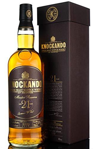 Knockando 21 Years Old Master Reserve mit Geschenkverpackung Whisky, 700