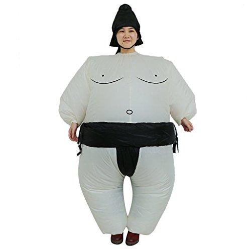 tianxinxishop Disfraz de Sumo Inflable para Ninos Disfraz de Lucha Hinchable Altura Adecuada: 0.9m-1.35m