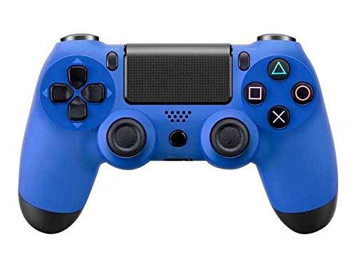 Mando Generico Compatible Para PS4 con Cable AZUL USB Vibracion Dual DoubleShock 4 Play Station 4 Play 4 Gamepad Para Consola