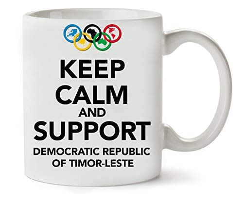 Keep Calm Support Democratic Of Timor Leste Classic Tea Coffee Mug