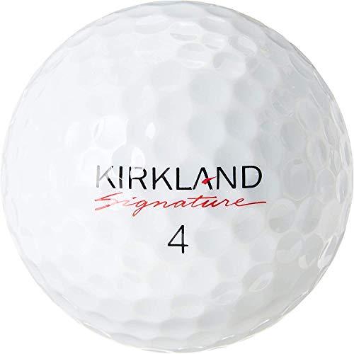 Kirkland Bolas de golfe Signature Mix – Qualidade menta – 1 dúzia (AAAAA, 1ª qualidade), Branco, 12 bolas de golfe