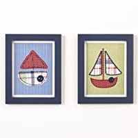 CoCaLo Framed Tug Boat Art Set by Cocalo [並行輸入品]