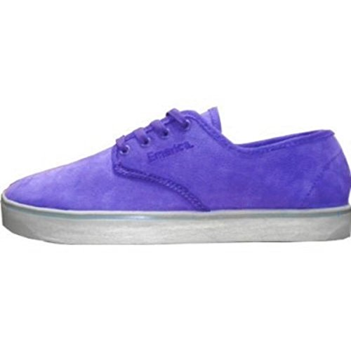 Emerica Skateboard Schuhe Laced Gaudy Grey/Purple, Schuhgrösse:46