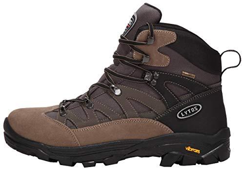 LYTOS Outdoor Tex Eiger 27 - Botines para Exteriores, Color marrón y Gris, Color Marrón, Talla 43 EU