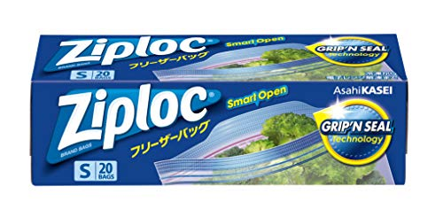 Ziploc フリーザーパック 小 20枚入