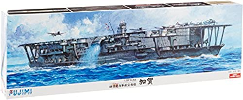 1 350 day Japanese Navy aircraft carrier Kaga wood deck seal plastic model ships SP