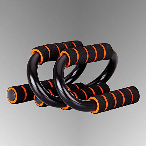 ERSD Push-ups S-förmigen Stahlbügel Anti-Rutsch-Übung Brust Und Bauch Training Heimfitnessgeräte (Size : 19 * 13 * 13cm)