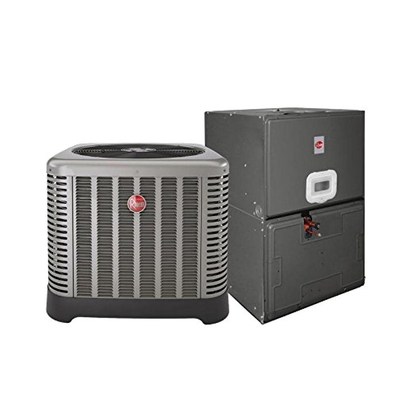 Rheem 3 Ton 15.5 Seer Ruud Air Conditioning System (AC only) RA1636AJ1NA - RBHP21J07SH2