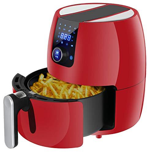 Deep air fryer kitchen healthy appliance touch screen temperature control 3.7qt