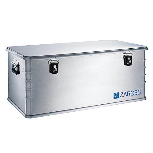 ZARGES Alu-Kombi-Box - Maxi, Inhalt 135 l - Außen-LxBxH 900 x 500 x 370 mm, Gewicht 6,9 kg - Alu-Box Alu-Boxen Alu-Kiste Alu-Kisten Alu-Transportkiste Alu-Transportkisten Alubox Aluboxen Box Boxen Kombibox Kombibox aus Aluminium Kombiboxen Kombiboxen aus