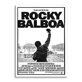 RuidoRosa Cuadro Lienzo Poster película de Rocky (75x50)