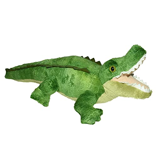 Wild Republic Alligator Plush, Stuffed Animal, Plush Toy, Gifts for Kids, Cuddlekins 8 Inches