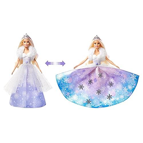 Barbie Princesa Vestido Mágico, Multicolorido, GKH26, Mattel