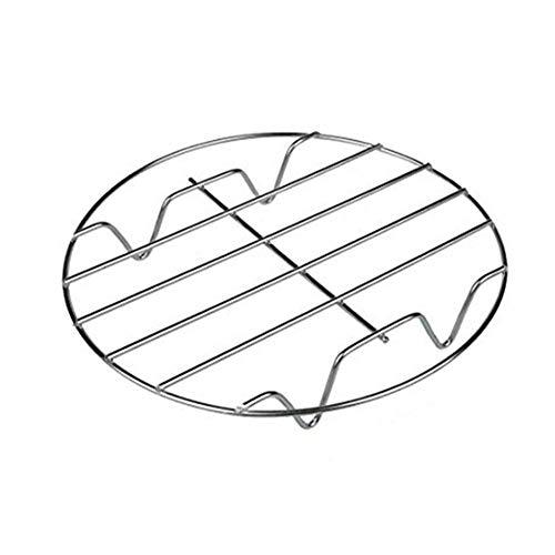 OYSOHE Gemüsedämpfer aus Edelstahl, Dampfgarer Einsatz - Dünsteinsatz - Dämpfeinsatz für Töpfe Küche Zubehör (Silber)