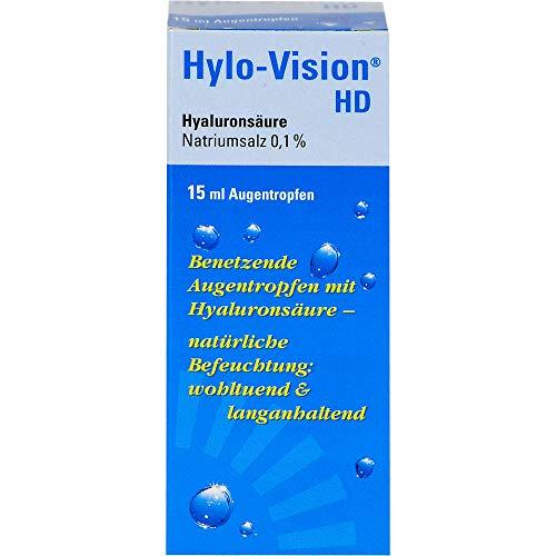 Hylo-Vision HD Augentropfen, 15 ml Lösung
