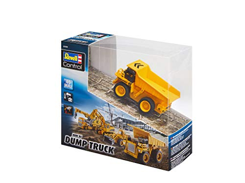 RC Baufahrzeug kaufen Baufahrzeug Bild 1: Revell Control 23495 RC Baufahrzeug Kipplaster, 40MHz, Akku ferngesteuertes Auto, gelb-orange, 10 cm*