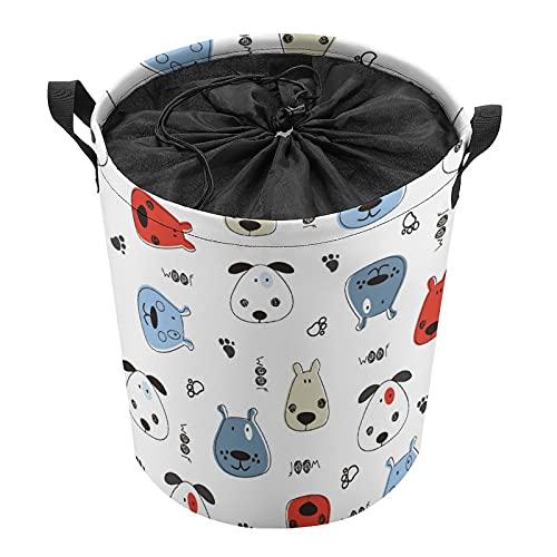 Manejar la cesta de lavandería superior, cesta de almacenamiento de ropa sucia, sala de estar manta...