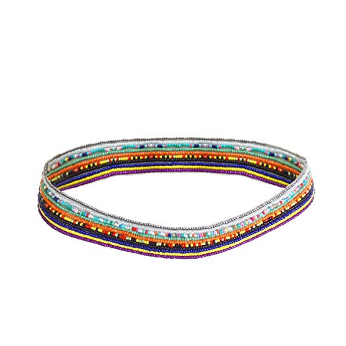 Sinkcangwu Pack of 10pcs Waist Beads for Women Girls Weight Loss, Elastic Belly Waist Beads Body Chain Jewelry, Colored Waist Beads Kit Chain for The Belly