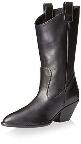 Giuseppe Zanotti Women's Western Boot, Nero, 35 M EU/5 M US