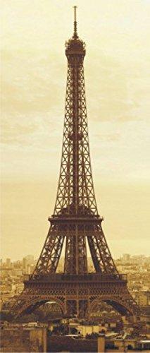 1art1 Paris - Eiffelturm, Vintage Style, 1-Teilig Fototapete Poster-Tapete 202 x 90 cm