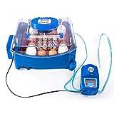 Borotto LUMIA 16 Expert - Incubatrice Professionale Brevettata, Materiale Termoisolante con Antibatterico, con Umidificatore Automatico Sirio - per 16 Uova Medio/Grandi o 64 Uova Piccole