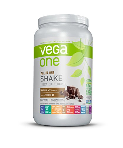 Vega One All-In-One Plant Based Protein Powder, Chocolate, 1.93 lb (19 Servings)