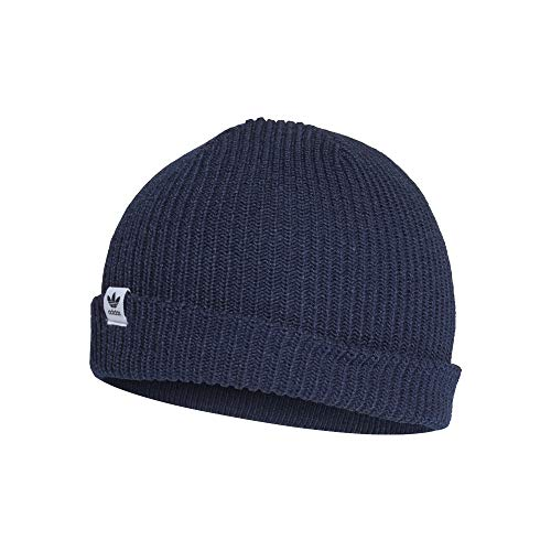 adidas Shorty Beanie Wintermütze (OSF Men, Navy/White)