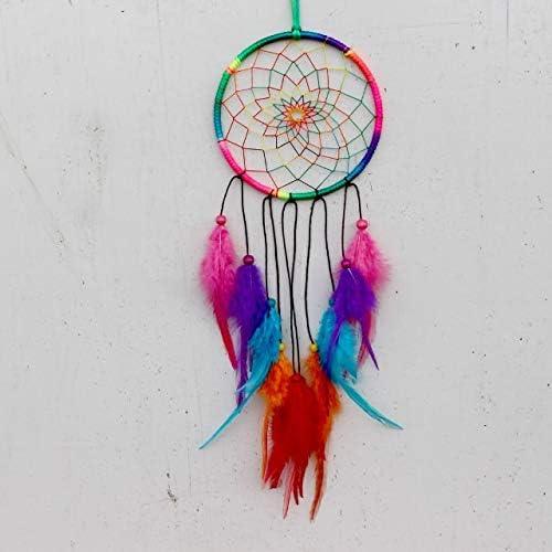 outlet JJZY NDJPN 1355CM Original Our shop OFFers the best service Indian Rainbow Mi Dream Catcher Color