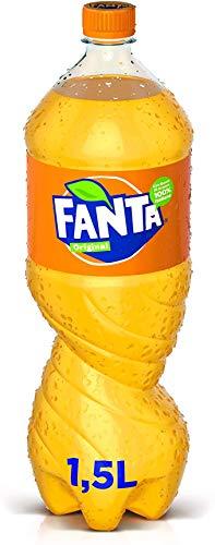 6x Fanta Orange Orangenlimonade flasche 1,5 L PET 100% italienische Orangen