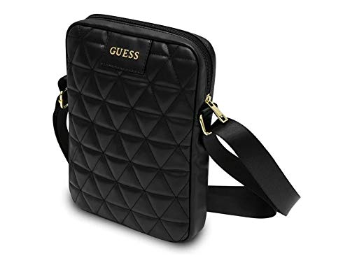 Guess Tablet Bag Quilted PU - Black