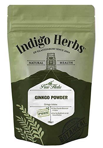 Polvo de hoja de Ginkgo Biloba - 100g (Calidad Asegurada)