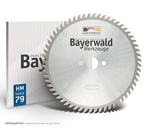 Bayerwald – Lama per sega circolare HM – 240 x 2,8/2 x 30   Forma dei denti: TF neg (80 denti)   Per tutti i metalli non ferrosi e plastiche   Per Festool AP 85   AP 88   AXP 85