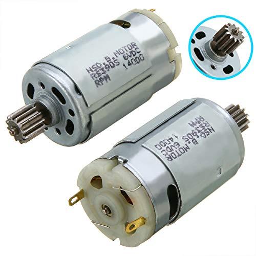 6V 14000 rpm Motor eléctrico RS390 Kid Motor de coche para niños...