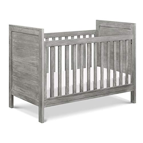 Great Price! DaVinci Fairway 3-in-1 Convertible Crib in Cottage Grey, Greenguard Gold Certified