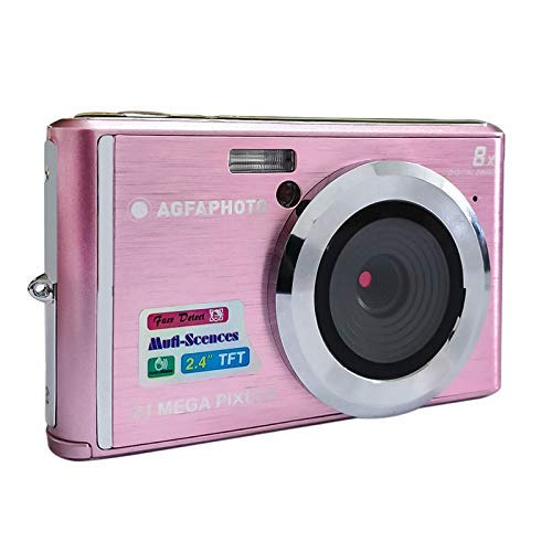 AGFA Photo Kompaktkamera DC5200, Rosa