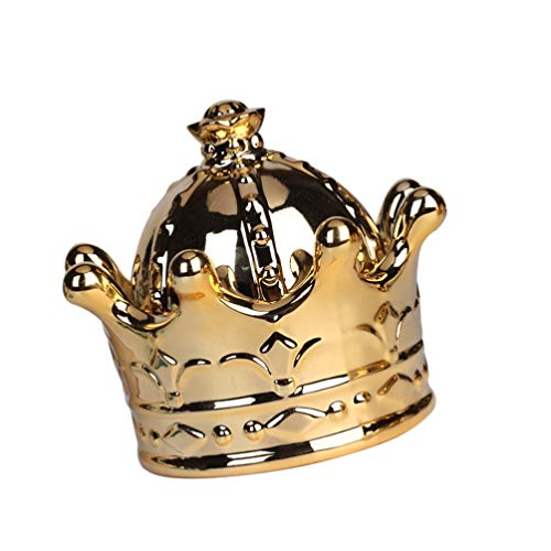 Desconocido Genérico Caja de Joyería de Cerámica Caja de Joyería de Cerámica Soporte de Anillo de Baratija Caja de Joyería de Boda para Baño Cocina Mesita de Noche