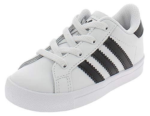 adidas Coast Star El I, Sneakers Basses bébé garçon, Multicolore (FTWR White/Core Black/FTWR White Ee7504), 22 EU