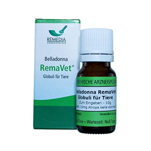 RemaVet Globuli für Tiere ATROPA BELLA-DONNA