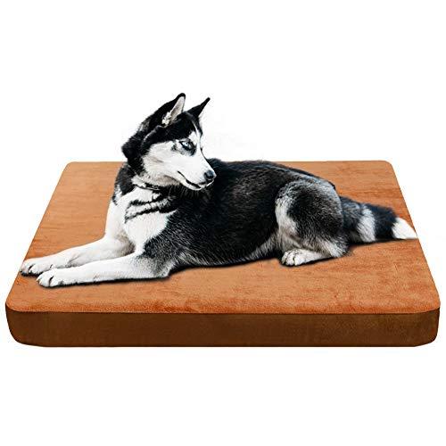 JoicyCo hondenbedden voor middelgrote honden huisdieren bedden hondenmatten krat mat schuim kussen anti-Slip met wasbare cover 31.50