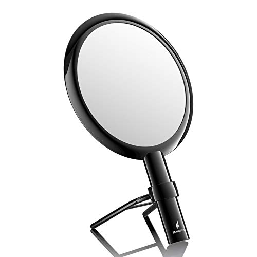 small vanity mirror with handle - 8
