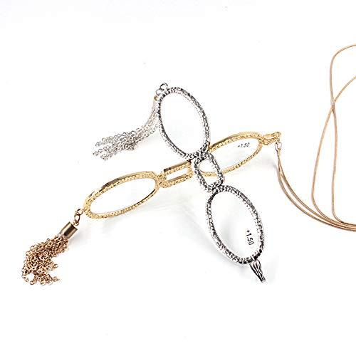 WYBF Moda Colgante Gafas de Lectura Cordones Cadenas para Gafas para Leer Periódicos