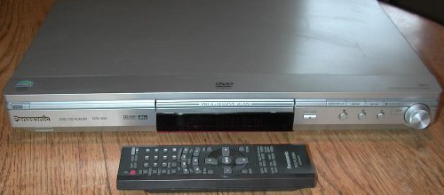 Sale!! Panasonic DVD-S31 DVD/CD Player and Remote