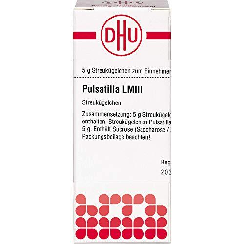 DHU Pulsatilla LM III Streukügelchen, 5 g Globuli