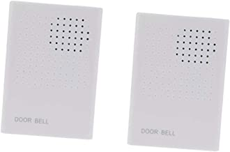 Baosity 2pcs Wired Alarm Doorbell Access Ding-Dong Enrty Security System