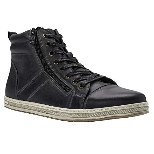 High Top Leather Shoes for Men
