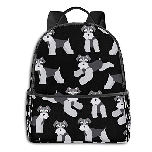IUBBKI Mochila lateral negra Mochilas informales Boys Girls Backpack Big Capacity Indian Trippy Mandala Floral Backpacks Anti-Theft Book Bags Waterproof Daypack for Travel Hiking Camping College