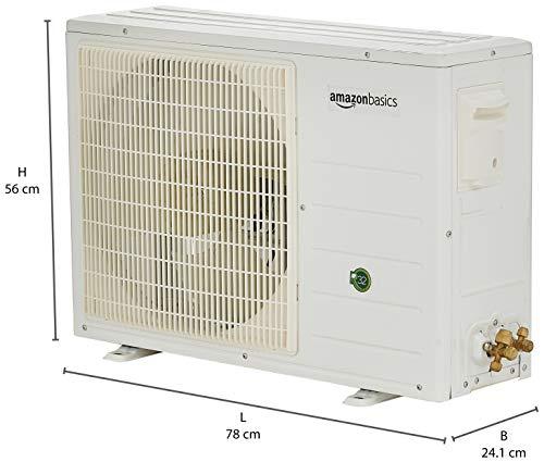 AmazonBasics 1 Ton 3 Star Non-Inverter Split AC (2020, White)